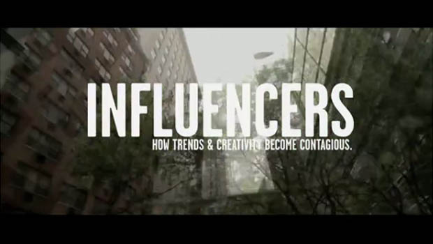 INFLUENCERS: A must see for creatives