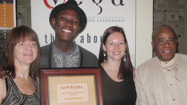 Vega student overwhelmed by R50 000 bursary from Dinokeng Project [press release]