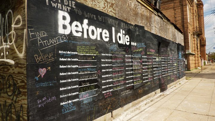 The Before I Die Street Art project comes to South Africa