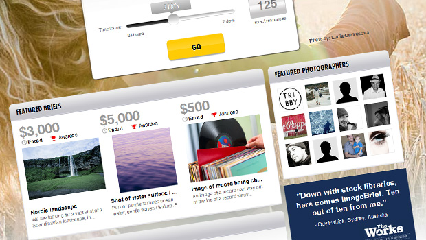 ImageBrief uses a Crowdsourcing Solution to Connect Agencies with Talented Photographers