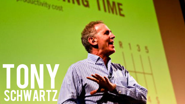 The Myths of the Overworked Creative- Tony Schwartz