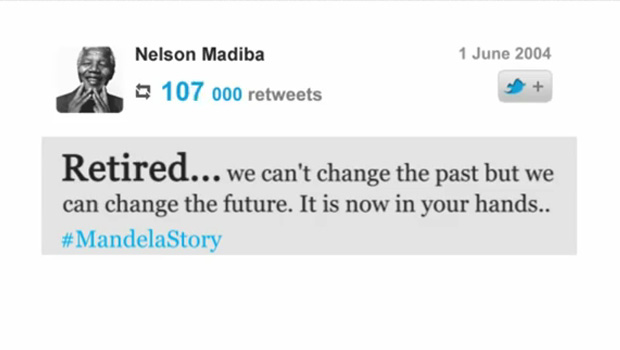 An inspiring and creative tribute video to Nelson Mandela