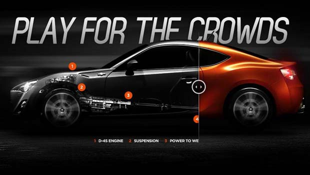 Hellocomputer lets us play in a Toyota 86 #Game
