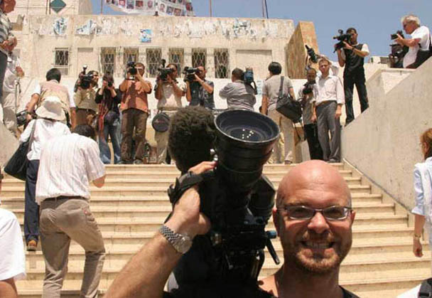 South African cameraman Adil Bradlow detained in Egypt