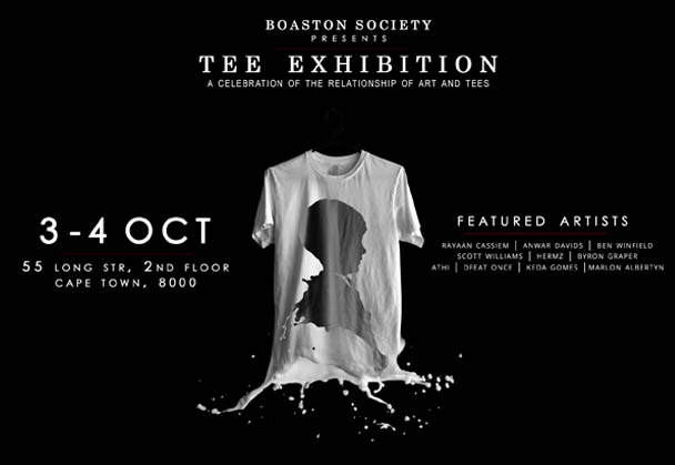 SOCIETY/a celebration of the relationship of art and tees- Tee Exhibition