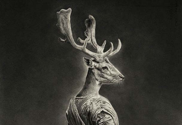 Surreal Pencil Drawings By Jono Dry
