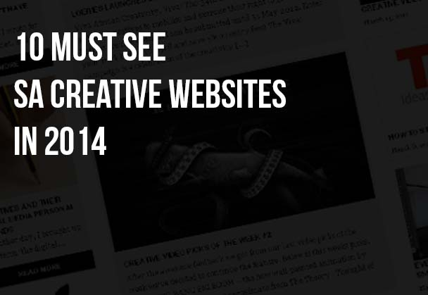 10 must see  SA creative websites in 2014