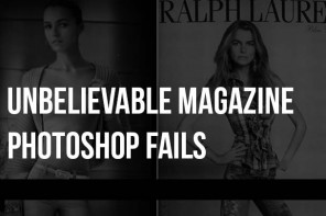 Unbelievable Magazine Photoshop Fails