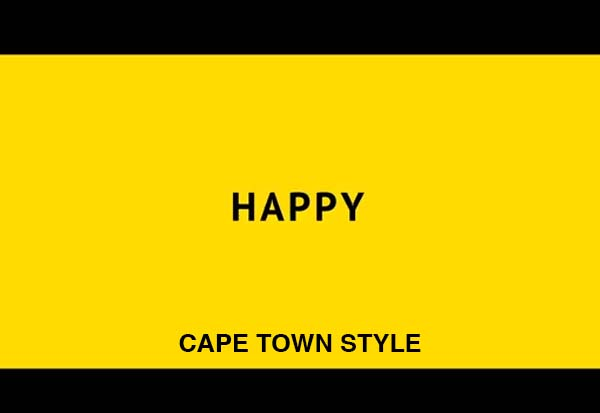 Pharrell Williams – Happy (Cape Town STYLE)