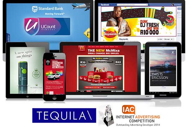 Tequila\Johannesburg shines at 2014 Internet Advertising Competition (IAC) Awards