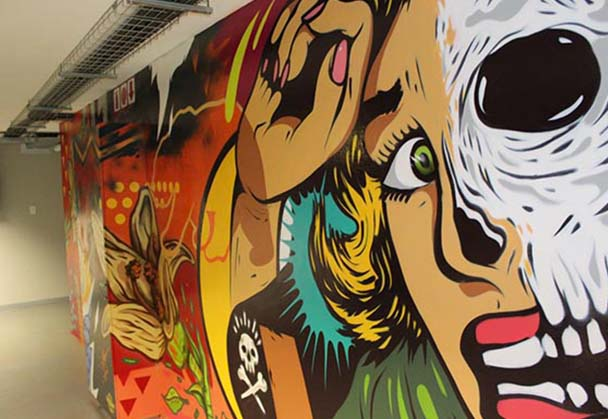 Follow up chat with Graffiti artist and Graphic Designer Shaun Oakley