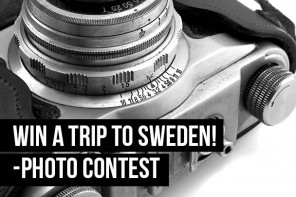 Win a trip to Sweden! – Photo contest