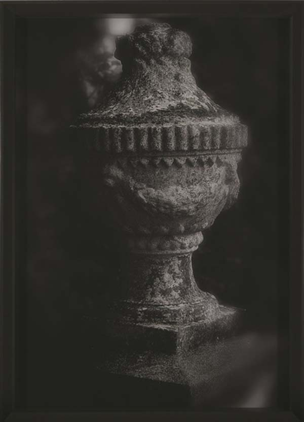 Urn, Archival pigment on UV museum glass, 445 x 615 x 60 mm, 2014, Edition 1 of 1