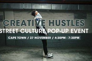 Street culture Creative Hustle pops up in Cape Town