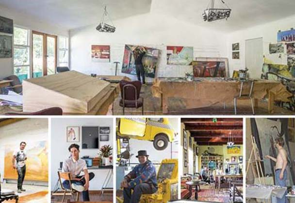 South African Artists at Home by Paul Duncan