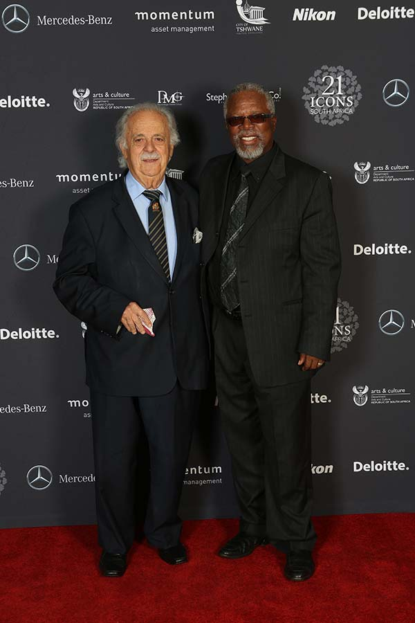iii) Advocate George Bizos (L), John Kani (R)_I believe it is the duty of the people to protect justice from the law.