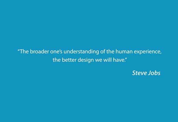 Steve Jobs on quote creativity translated to animation
