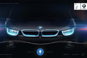 A voice-navigated website that will make you fall in love with the new BMW i3