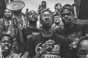 The most captivating #FeesMustFall Images