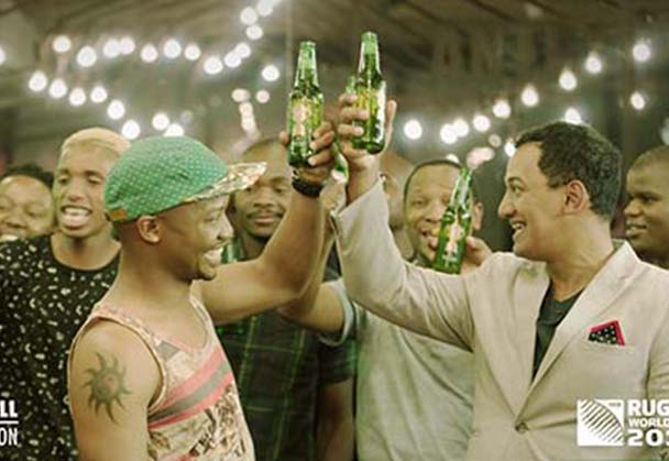 Taking rugby off the field and onto the streets with Heineken®