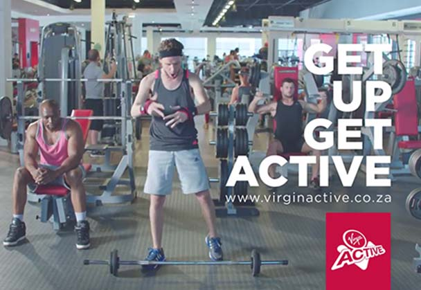 "VIRGIN ACTIVE CHALLENGES SOUTH AFRICANS TO ""GET OFF THEIR ASS""!"