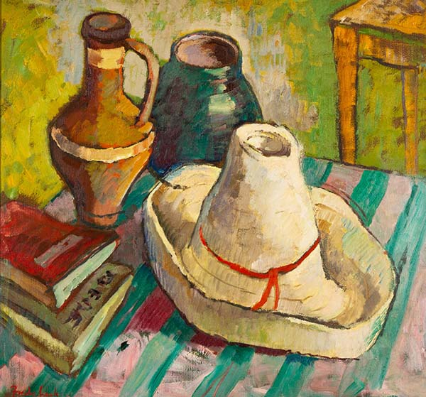 Still Life with White Hat (2MB)
