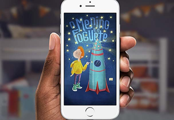 Creatives turn smartphones into interactive books during Facebook Hackathon
