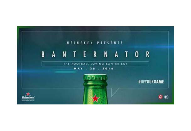 Heineken® uses artificial intelligence to entertain football fans with the 'gift of the gab'
