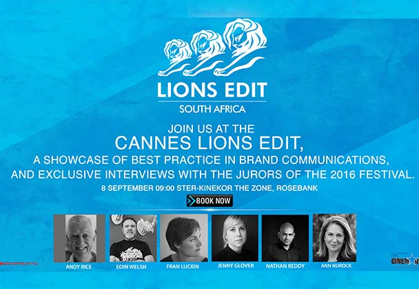STER-KINEKOR CINEMARK INVITES YOU TO CANNES LIONS EDIT