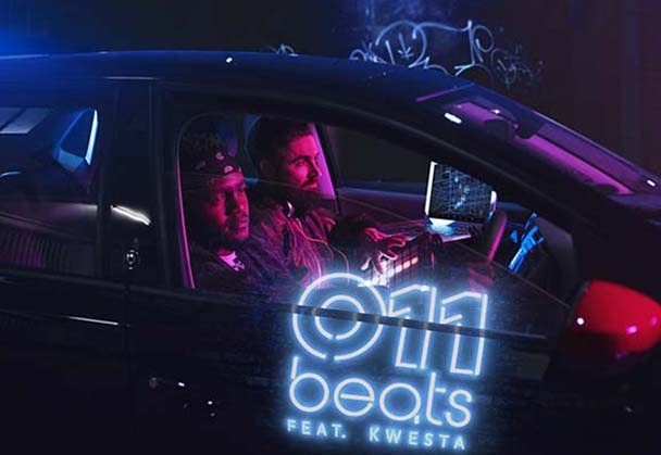 Kwesta & Ross 'Dabone' McDonald create a track in the new Volkswagen Polo Beats