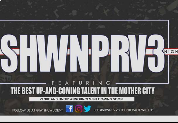 SHWNPRV3 SET TO FEATURE CAPE TOWN'S BEST UP AND COMING HIP HOP TALENT