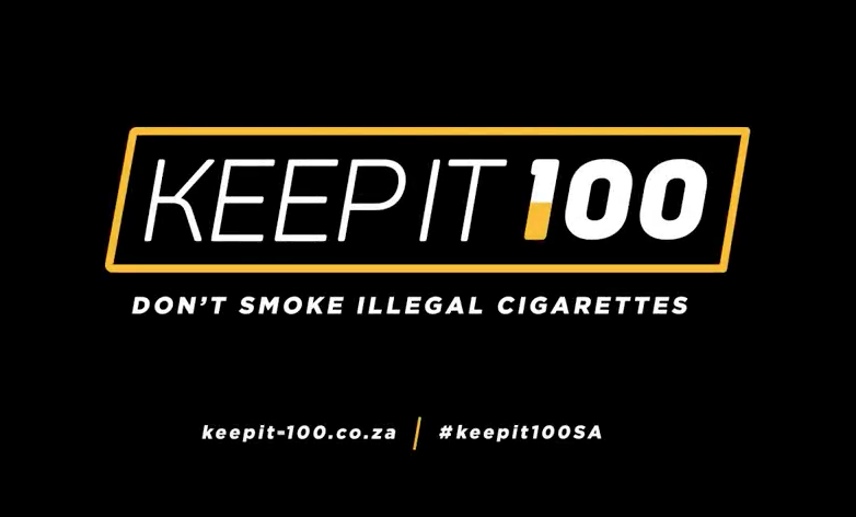 Creative campaign highlighting dangers of illegal cigarettes