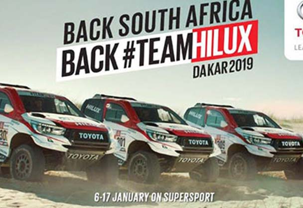 Toyota Hilux builds on success of last year's Dakar campaign with cheeky new ad