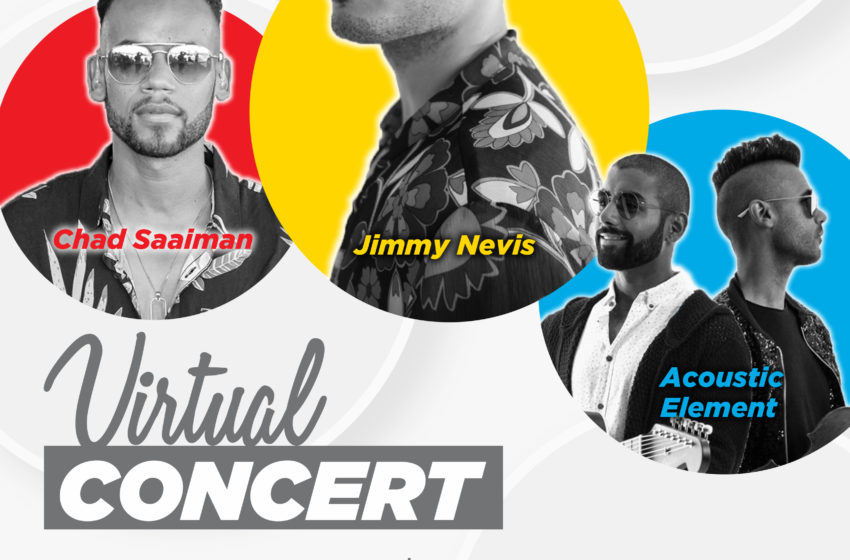 Jimmy Nevis & Chad Saaiman Headline Virtual Concert In Aid Of The Sunflower Fund