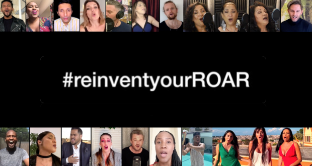21 Artists Unite For #ReInventYourROAR Music Video