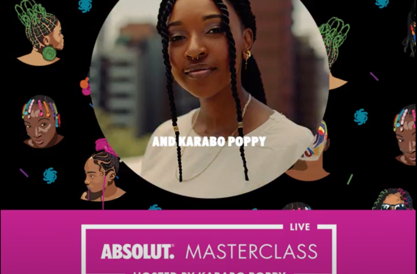 Karabo Poppy Holds The Fort In Hosting the Absolut Masterclasses