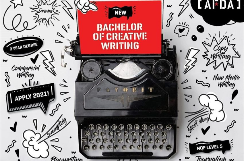 Afda Launches New Cutting-Edge Bachelor Of Creative Writing Degree For 2021