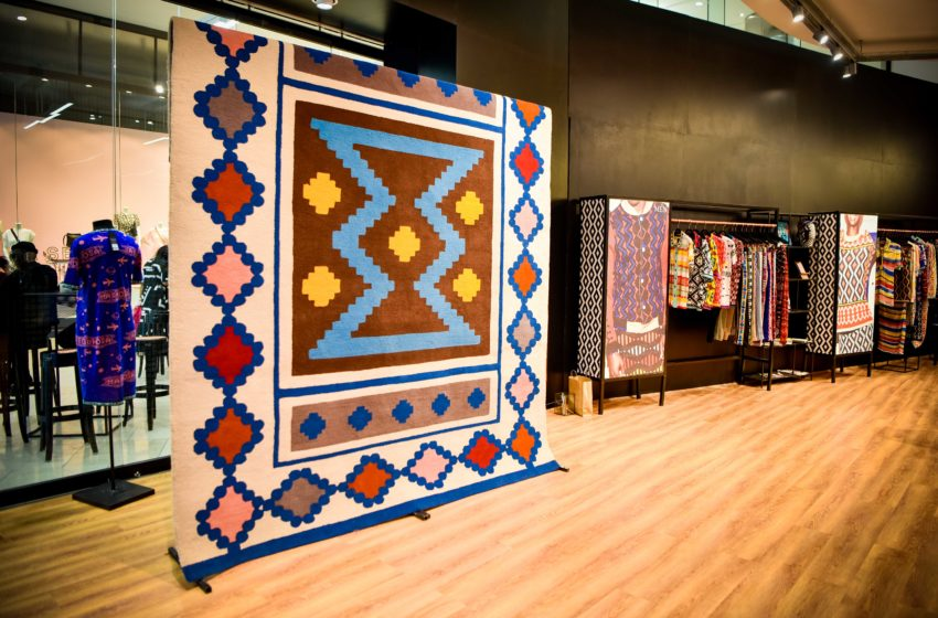 One-Of-A-Kind Laduma And Tastic Rug Finds A Home