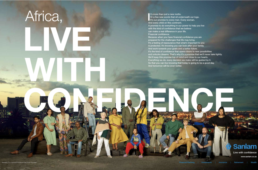 SANLAM SHOWS HOW TO LIVE WITH GAME-CHANGING CONFIDENCE