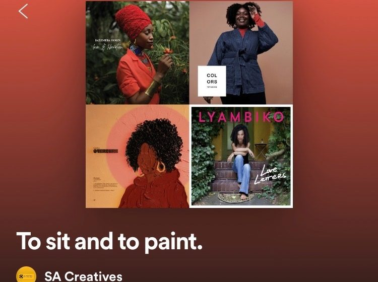 54 Minutes to sit and to paint: a playlist