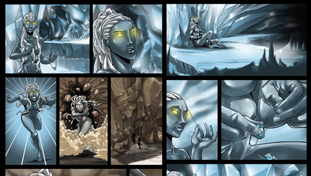 The story behind the story- Tree of Life Trilogy #graphicnovel