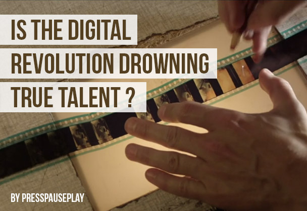 Is the digital revolution drowning true talent?