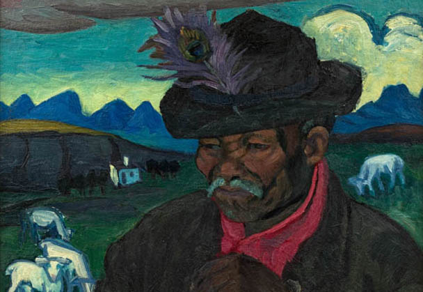 Discovery of Double-sided Laubser Painting Delights at Strauss's Spring Auction