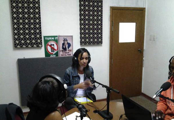Delene Bailey Host of The Daily Wrap Up on Kofifi fm Chats to us
