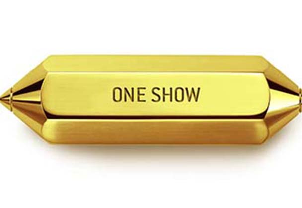 TWO ONE SHOW GOLD PENCILS FOR A GOLDEN CAUSE