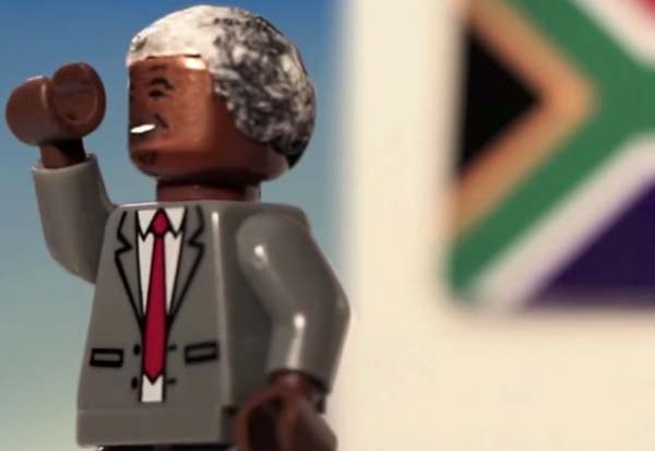 Nelson Mandela in Lego, Our Country's Greatest Story Told in Lego.