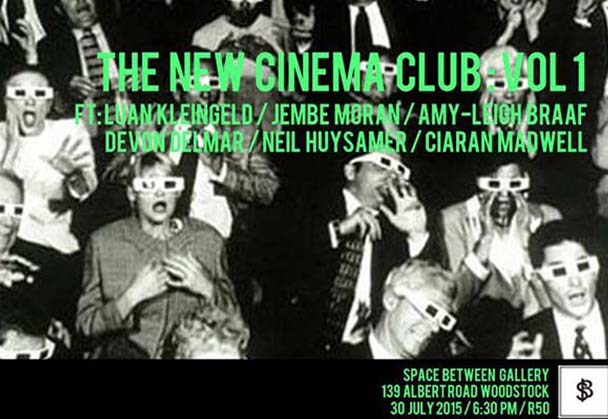 The New Cinema Club: Vol. 1 at Space Between gallery