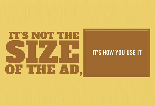 Place your ad where it counts #INFOGRAPHIC