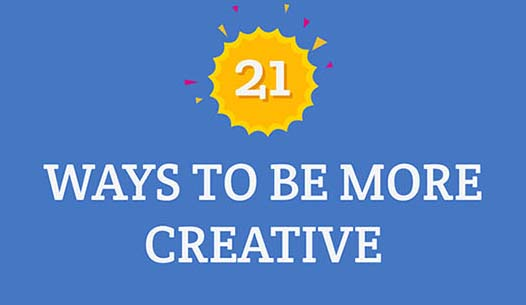 21 Ways to Be More Creative – Wake Your Inner Artist