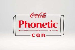 FCB Joburg and the Coke PHONETIC CAN introduces South Africa to South Africa